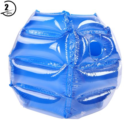 Yosoo Inflatable Bumper Bubble Balls, Wearable PVC Funny Bounce Body Bumpers Ball Body Bubble Ball for Kids and Adults