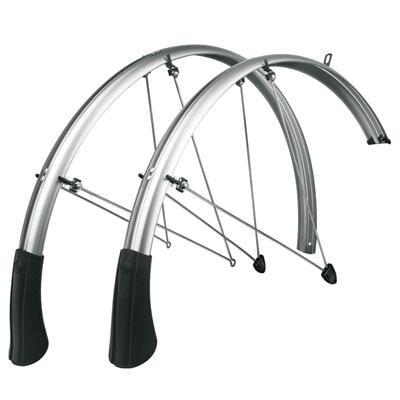 SKS P50 Chromoplastic Longboard Bicycle Fenders - 700 x 38-45