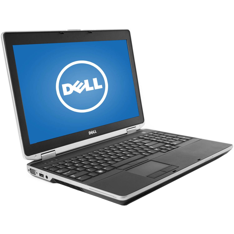 "Refurbished Dell Black 15.6"" Latitude E6530 Laptop PC with Intel Core i5-3310M Processor, 4GB Memory, 320GB Hard Drive and Windows 7 Professional"