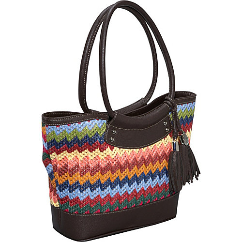 Nine West Handbags Weave It To Me Satchel