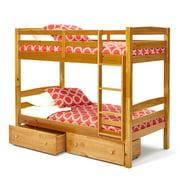 Woodcrest  Pine Ridge Twin/Twin Bunk Bed