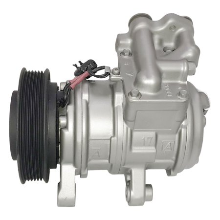 RYC Remanufactured AC Compressor and A/C Clutch GG379 Fits 1999, 2000, 2001, 2002, 2003, 2004 Jeep Grand Cherokee