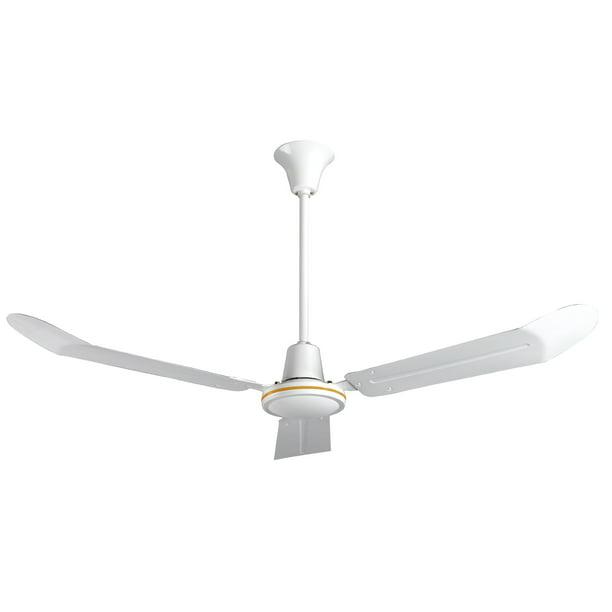 56 Inch Commercial Ceiling Fan With Cord Plug Walmart Com Walmart Com