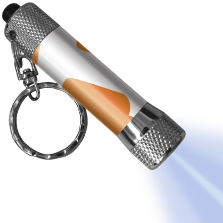 Tennessee Volunteers LED Flashlight Logo Keychain - No Size - Led Flashlight Keychain Bulk