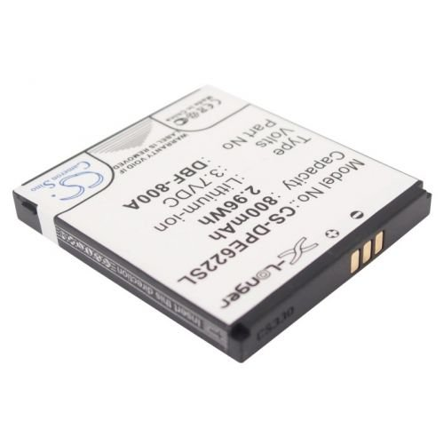 SMAVCO Bundle DBF-800A Battery for DORO PhoneEasy 622, PhoneEasy 622GSM Plus Micro USB Cable, 800mAh