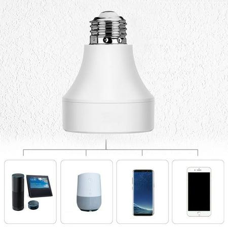 Lixada LED Concepts Wifi Remote Control Lamp Holder Wireless Smart Light Bulb...