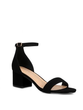 586b56333 Product Image CR Block Heel Women s Ankle Strap Sandals in Black