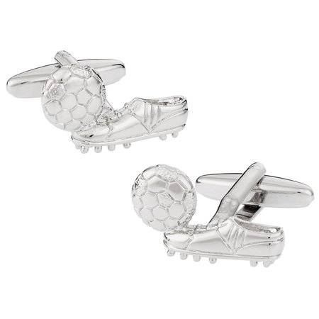 Soccer Football and Cleats Boots Cufflinks by (Football Soccer Boots Cleats)