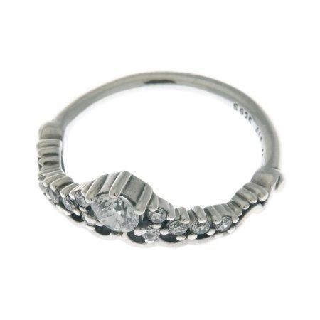 b79f56c5f Authentic Fairytale Tiara Ring, Clear CZ 196226CZ-54 EU 7 US - Walmart.com