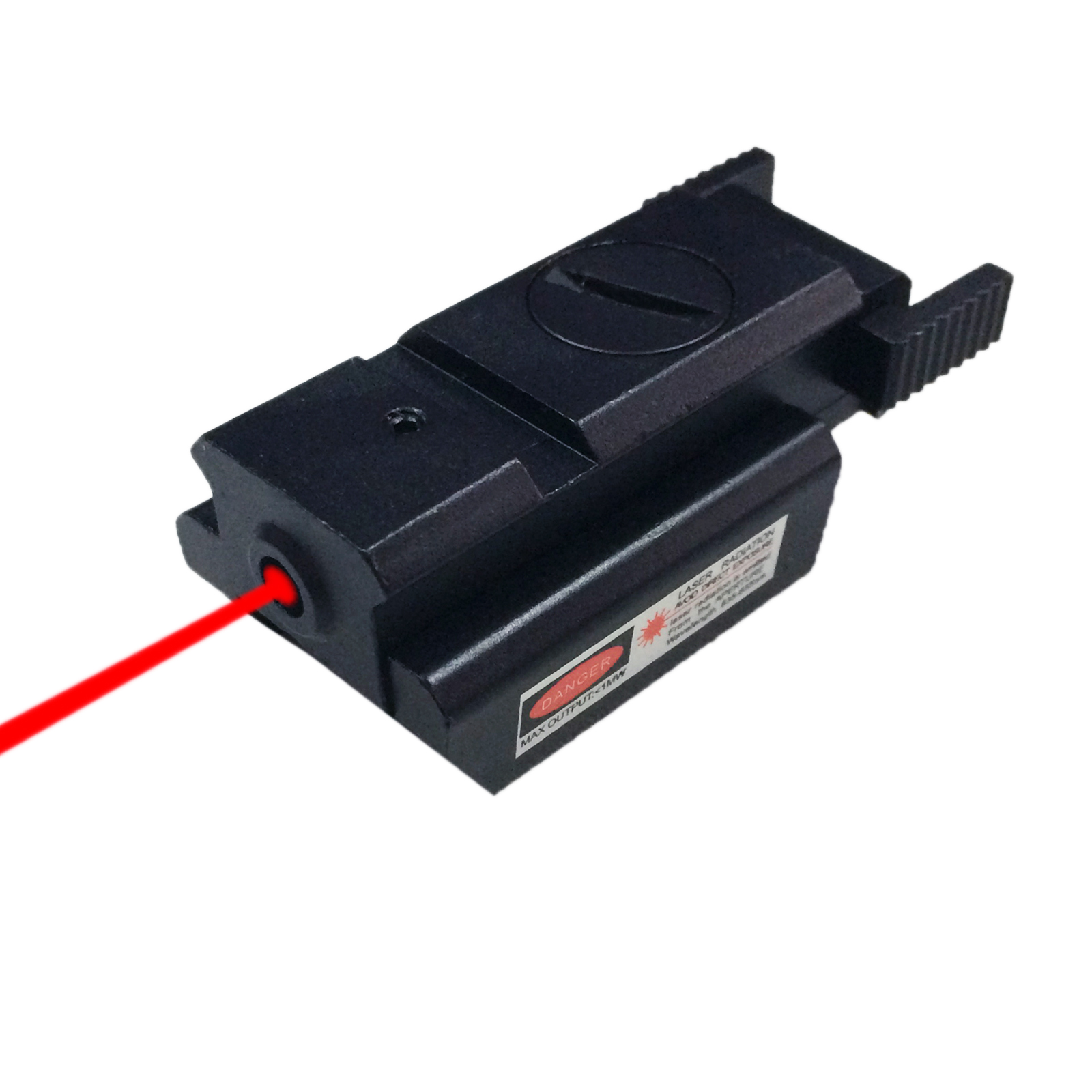 Pinty Red Dot Mini Compact Rail Red Laser Sight Weaver For