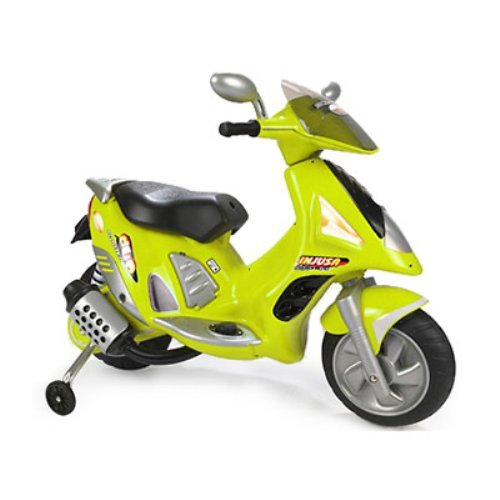 Injusa Battery Powered Scooter Duo Green