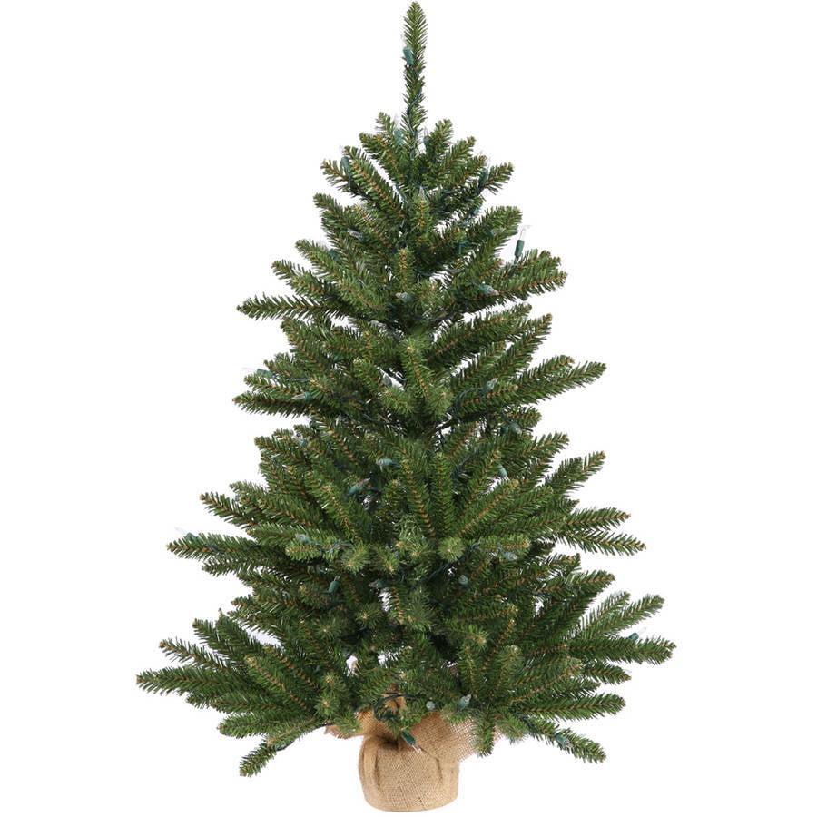 "Vickerman 24"" Anoka Pine Artificial Christmas Tree, Unlit"