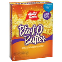 Product Image Jolly Time Blast O Er Ultimate Theatre Style Microwave Popcorn 3 2 Oz