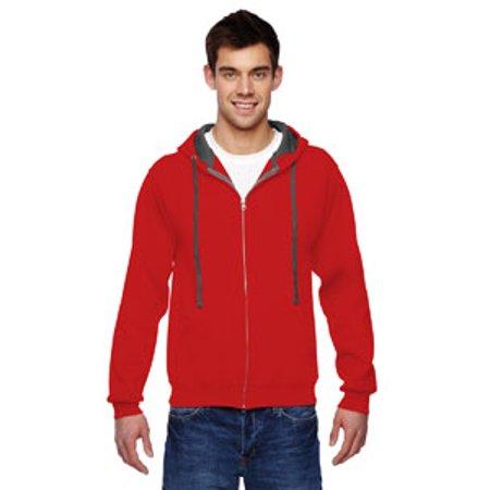 - Fruit of the Loom Adult 7.2 oz. SofSpun® Full-Zip Hooded Sweatshirt
