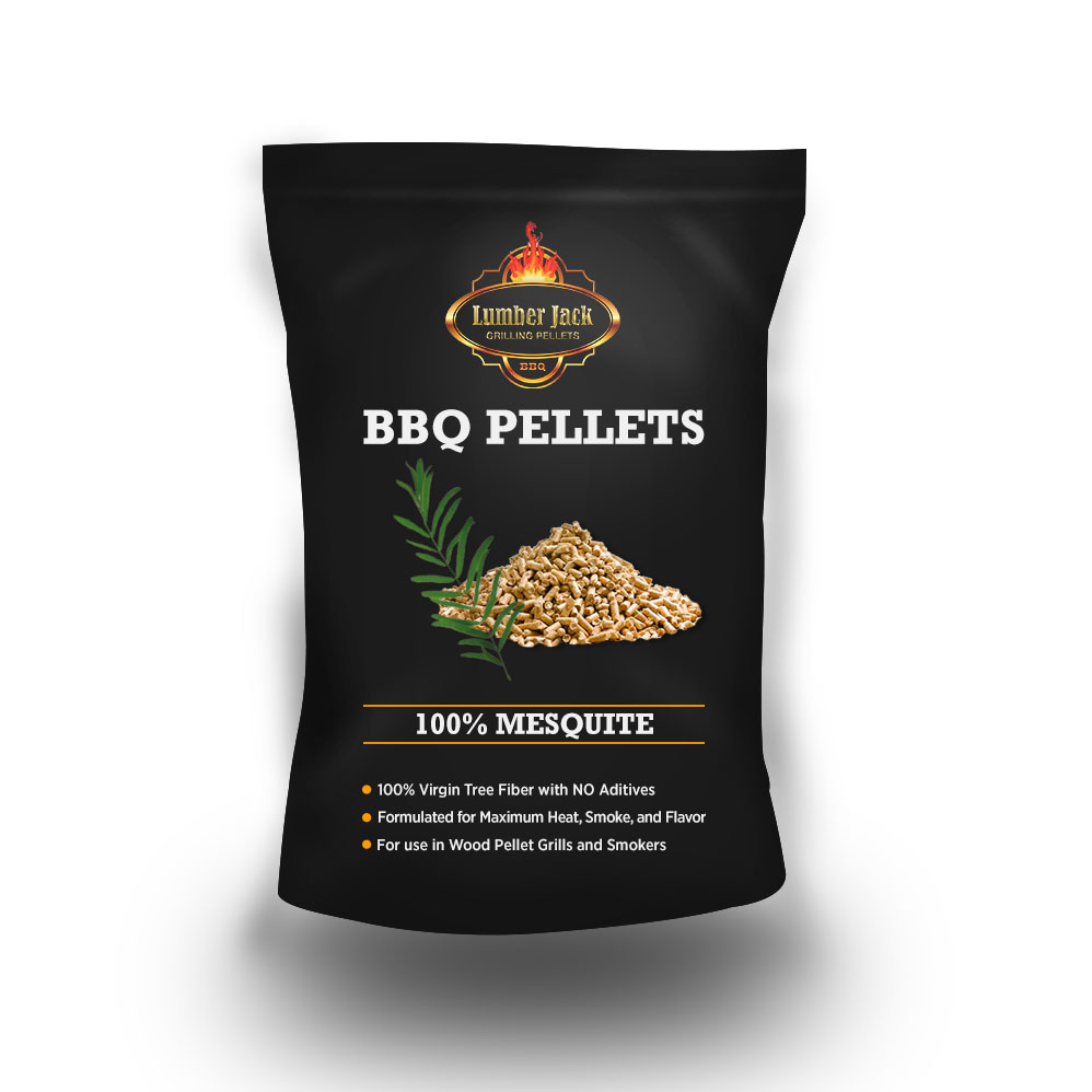 Lumber Jack 100% Mesquite BBQ Grilling Pellets