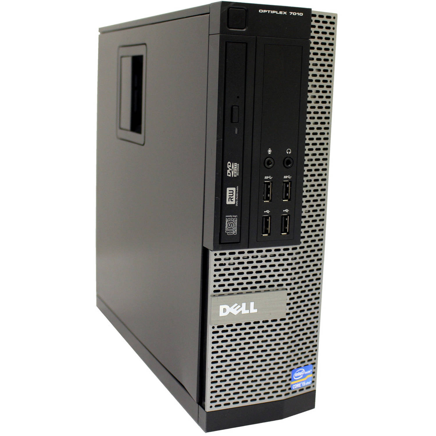 Certified Certified Refurbished Dell 7010 SFF Desktop PC with Intel Core i5-3470 Processor, 4GB Memory, 1TB SATA Hard Drive and Windows 10 Home (Monitor Not Included)