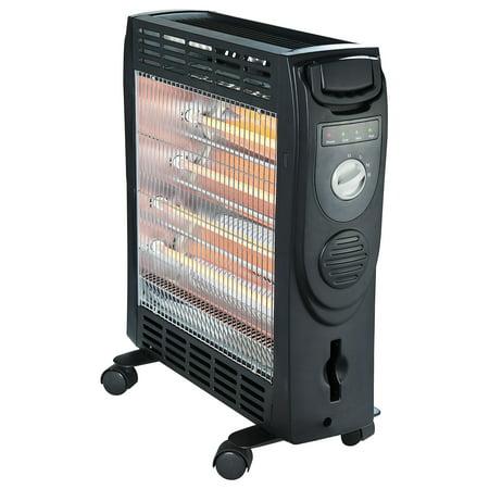 Optimus Quartz And Convection Radiant Heater Walmart Com