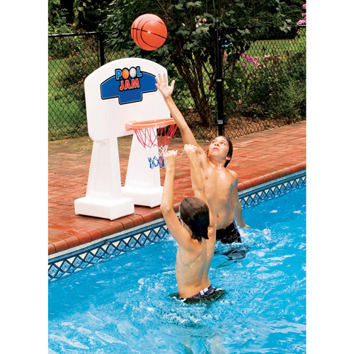 Pool Jam Basketball Game For In-Ground Pools