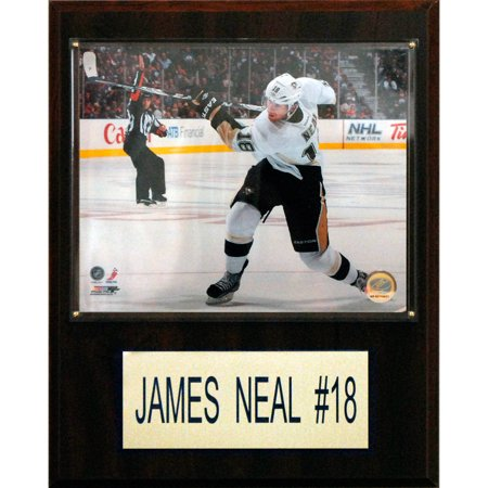C&I Collectables NHL 12x15 James Neal Pittsburgh Penguins Player Plaque
