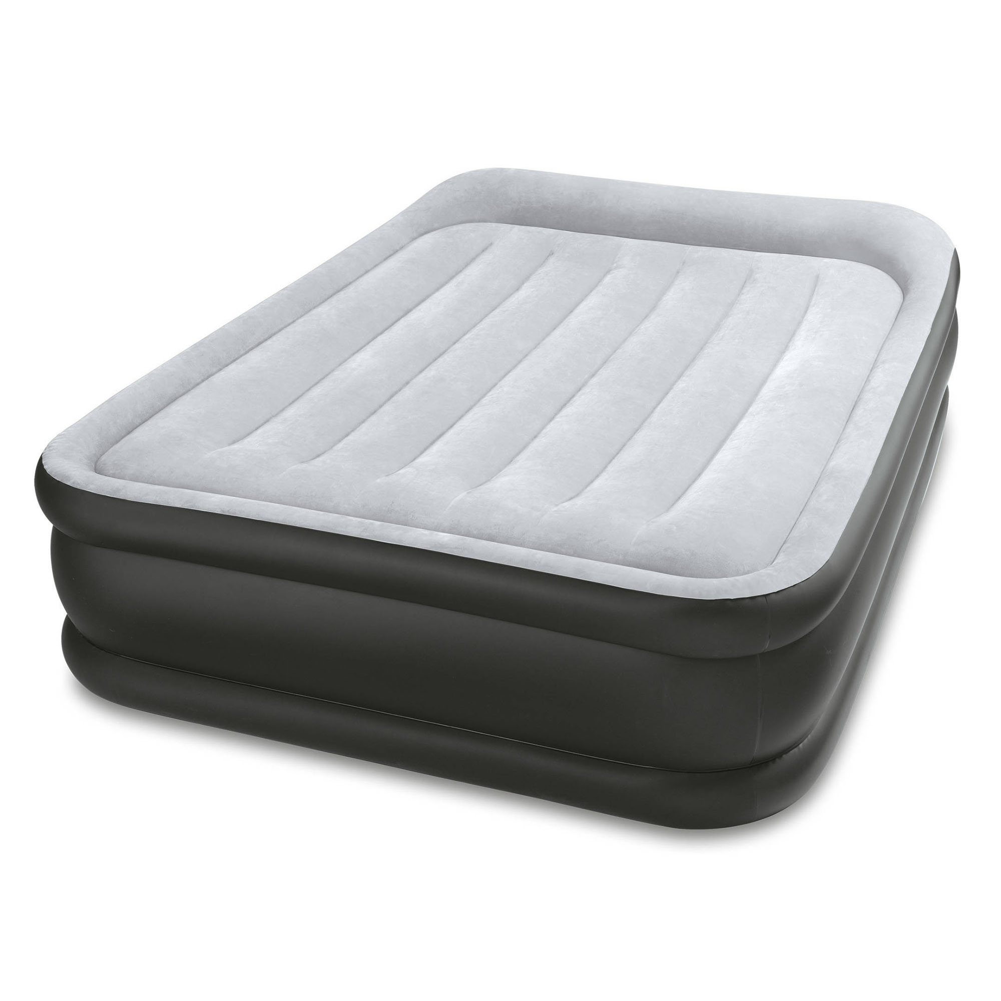 """Intex 16.5"""" Full Size DuraBeam Deluxe Pillow Rest Airbed Mattress with Built-In Pump by Intex"""