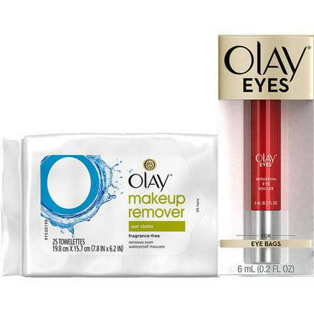 Olay Eyes Eye Depuffing Roller with BONUS Makeup Remover