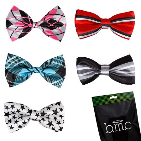 Stylish 5in1 Adjustable Boys Bow Tie Collection - Various Designs](Bat Bow Tie)