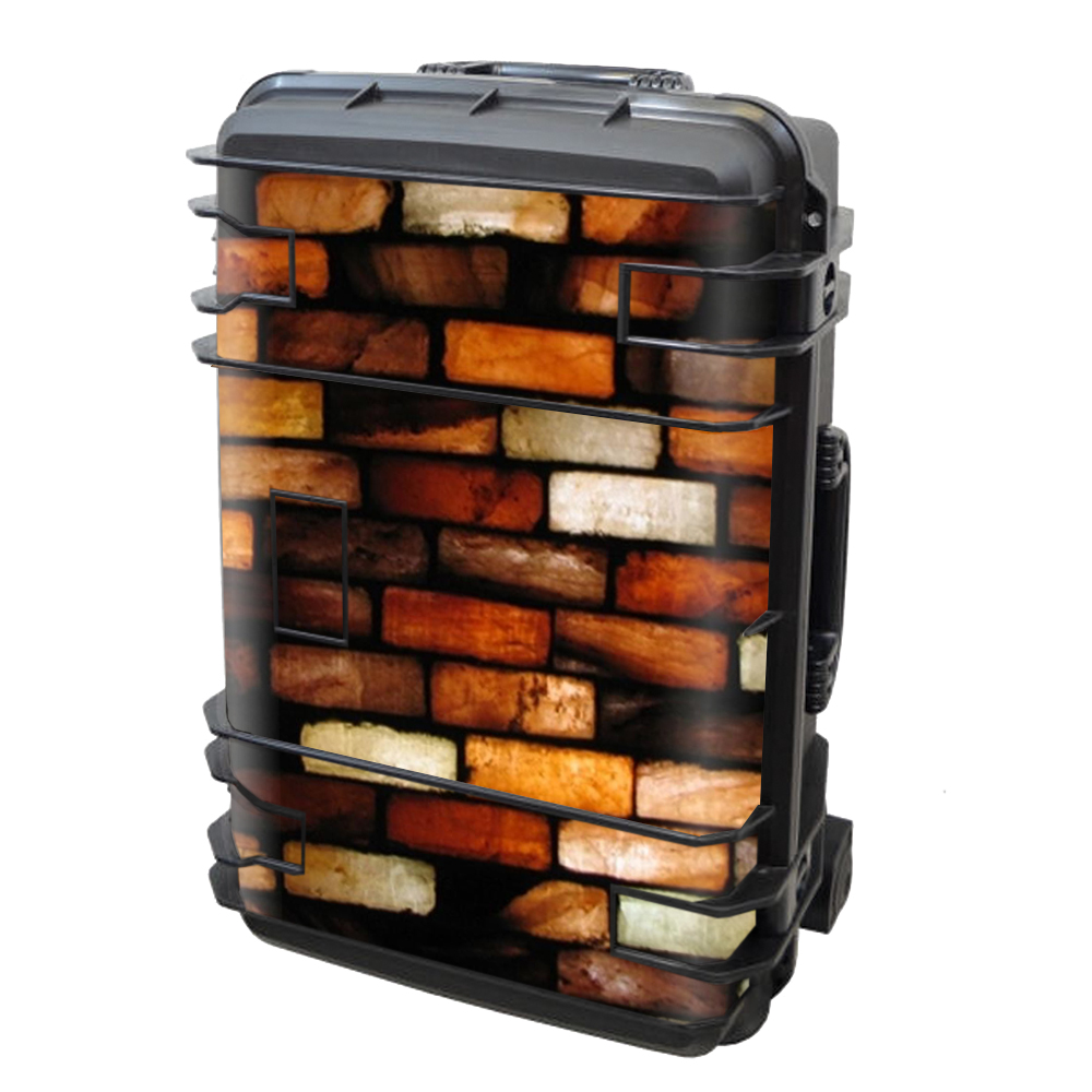 Skin Decal Vinyl Wrap for Seahorse SE-920 Case Skins Stickers Cover / Stained Glass Bricks Brick Wall