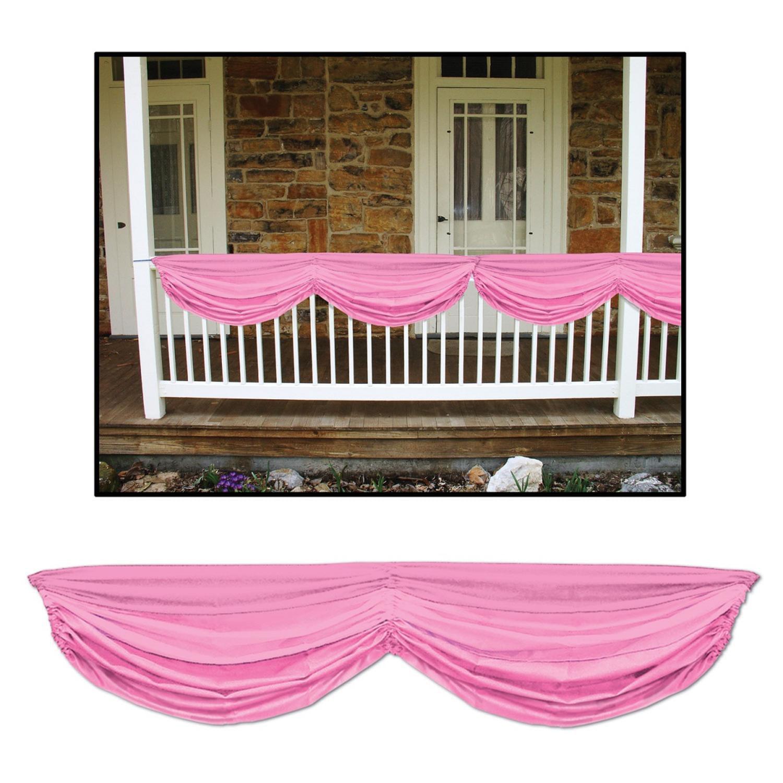 Mini Honey b Pink Elephant Baby Shower Decorations 4pk