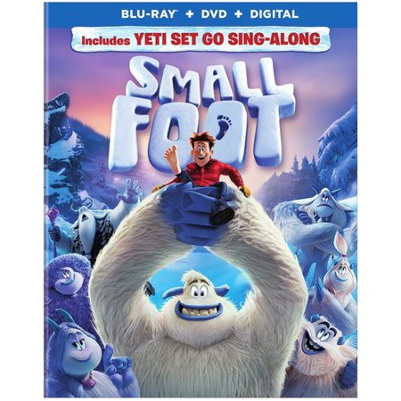 Smallfoot (Blu-Ray + DVD + VUDU Digital)
