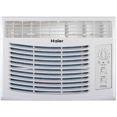 Haier HWF05XCP-L 5,000-BTU Mechanical Window Air Conditioner ... on