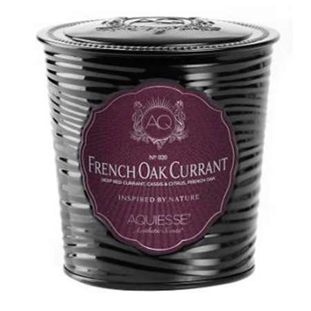 Aquiesse Portfolio Collection Scented Tin Candle French Oak Currant (Previously Rioja) 11oz
