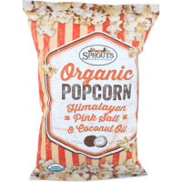 Pack of 3 - Sprouts Organic Popcorn Himalayan Pink Salt Coconut Popcorn, 4 OZ