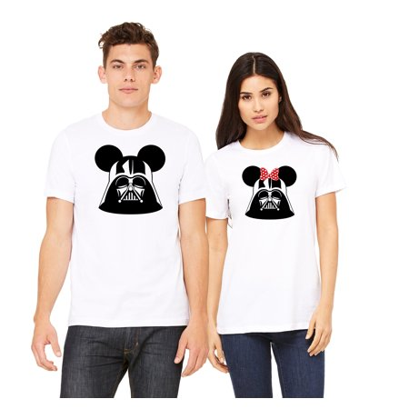 Couples Shirt Darth Vader Star Wars Disney Matching T Shirts (Sold Separately)](Couples Disney Shirts)