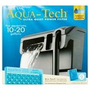Aqua-Tech Ultra Quiet Power Filter for 10-20 Gallons