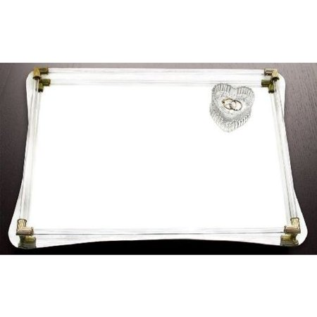 Mirrored Vanity Tray (Jay Import Mirror Vanity Tray 12x16