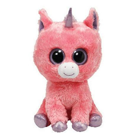 Ty Magic the Pink Unicorn Beanie Boos Stuffed Plush Childrens Kids Toy - Childrens Party Stuff