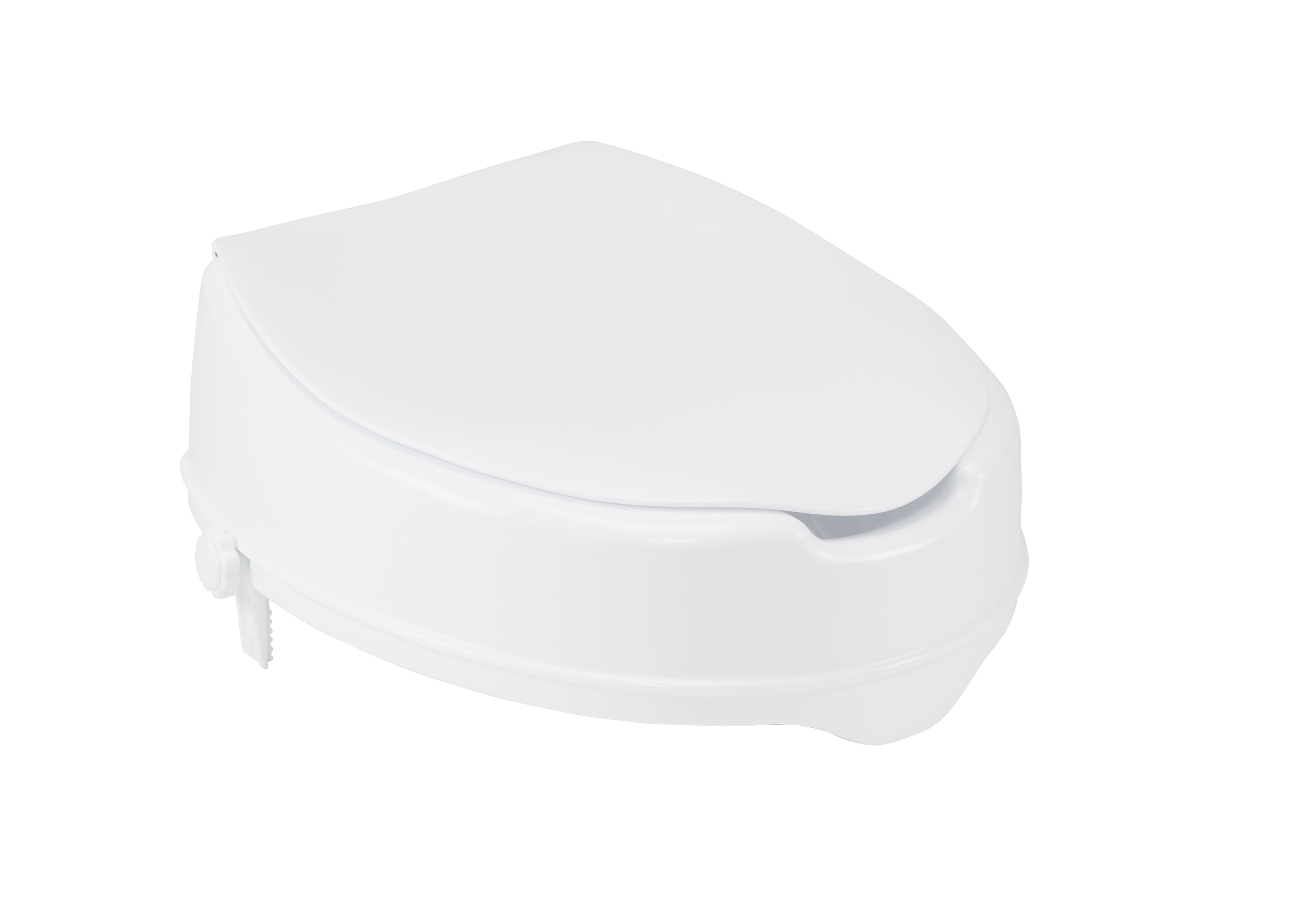 Terrific Drive Medical Raised Toilet Seat With Lock And Lid Standard Seat 4 Gmtry Best Dining Table And Chair Ideas Images Gmtryco