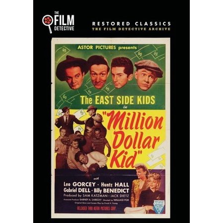 Million Dollar Kid (The East Side Kids) (DVD) - Halloween Parties Upper East Side