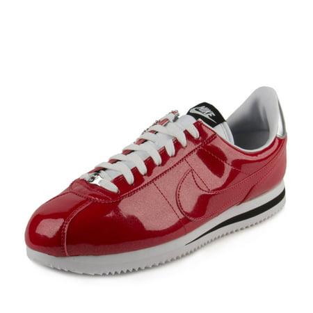 Nike - Nike Mens Cortez Basic Premium QS Gym Red White-Silver 819721-600 -  Walmart.com 498ed1919