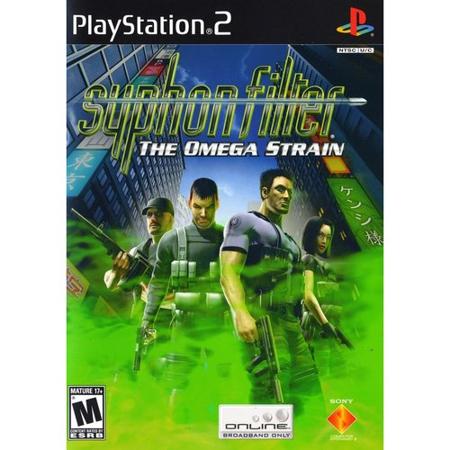 Syphon Filter: The Omega Strain - Greatest Hits (PS2)