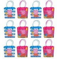Peppa Pig Goody Bags, Peppa Pig Party Favor Goodie Bags Gift Bags Birthday