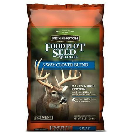 Pennington Food Plot Seed 3-Way Clover Blend, 3 lbs