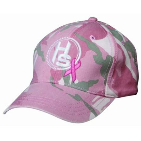 Hunters Specialties Women's Breast Cancer Awareness Baseball Cap (Pink/Camo) thumbnail