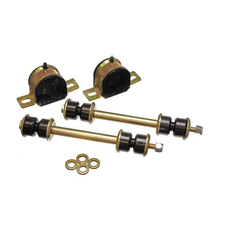 Energy Suspension 00-06 Tahoe/Yukon/Denali 2WD Black 32mm Front Sway Bar Bushing Set