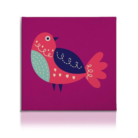 Stretched Canvas Prints Wall Art Pictures Small Home Decor for Living Room, Bird ()