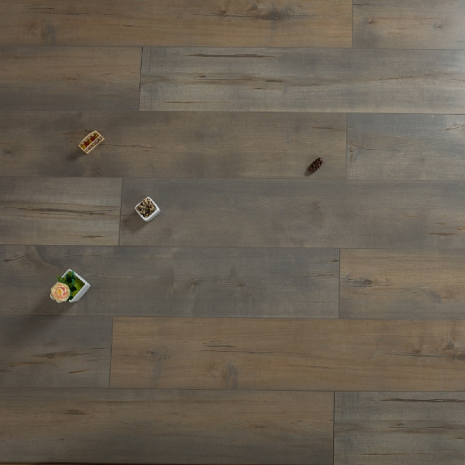 Bayleaf EIR 12 mm Thick x  7.72 in. Width x 47.83 in. Length HDF Laminate Flooring (15.38 sq. ft/ case)