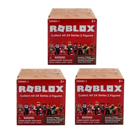 Roblox Series 2 Action Figure - 3 RANDOM Mystery Boxes