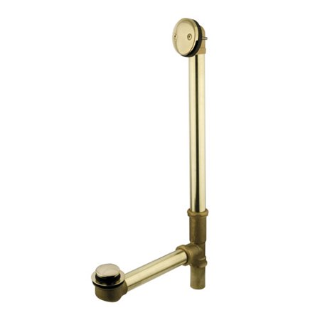 Kingston Brass Made to Match Tip-Toe 2.88'' Leg Tub Drain With Overflow
