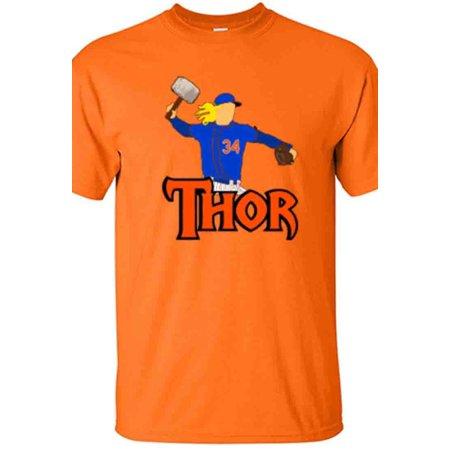 Shedd Shirts ORANGE Noah Syndergaard New York Mets