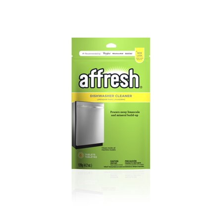 Affresh Dishwasher Cleaner Tablets, 6 count